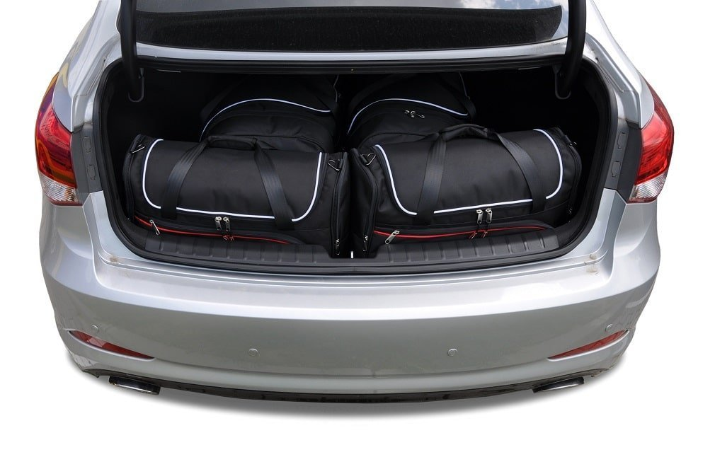 kjust hyundai i40 limousine 2011 car bags set 4 pcs. Black Bedroom Furniture Sets. Home Design Ideas