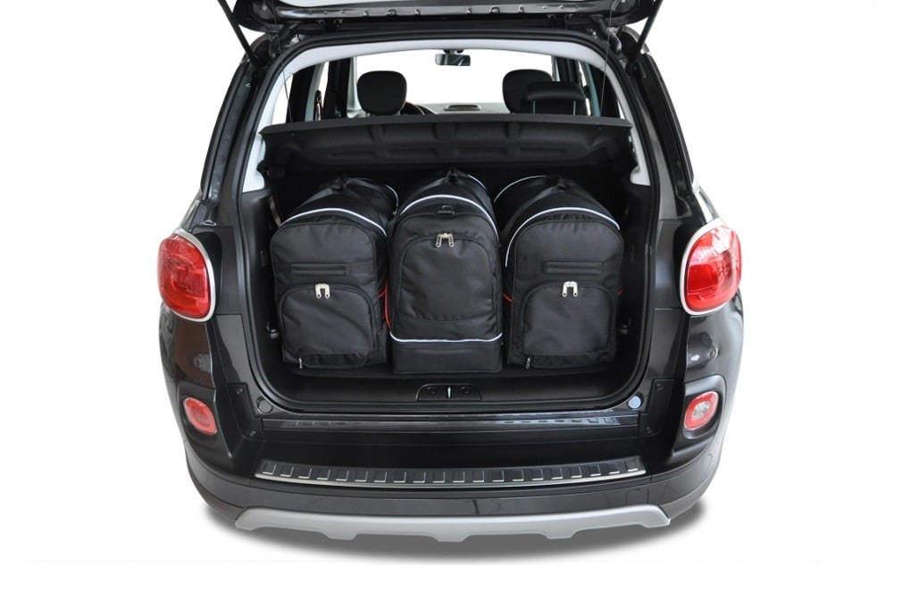 Kjust fiat 500l 2012 car bags set 3 pcs select your for Interieur fiat 500x