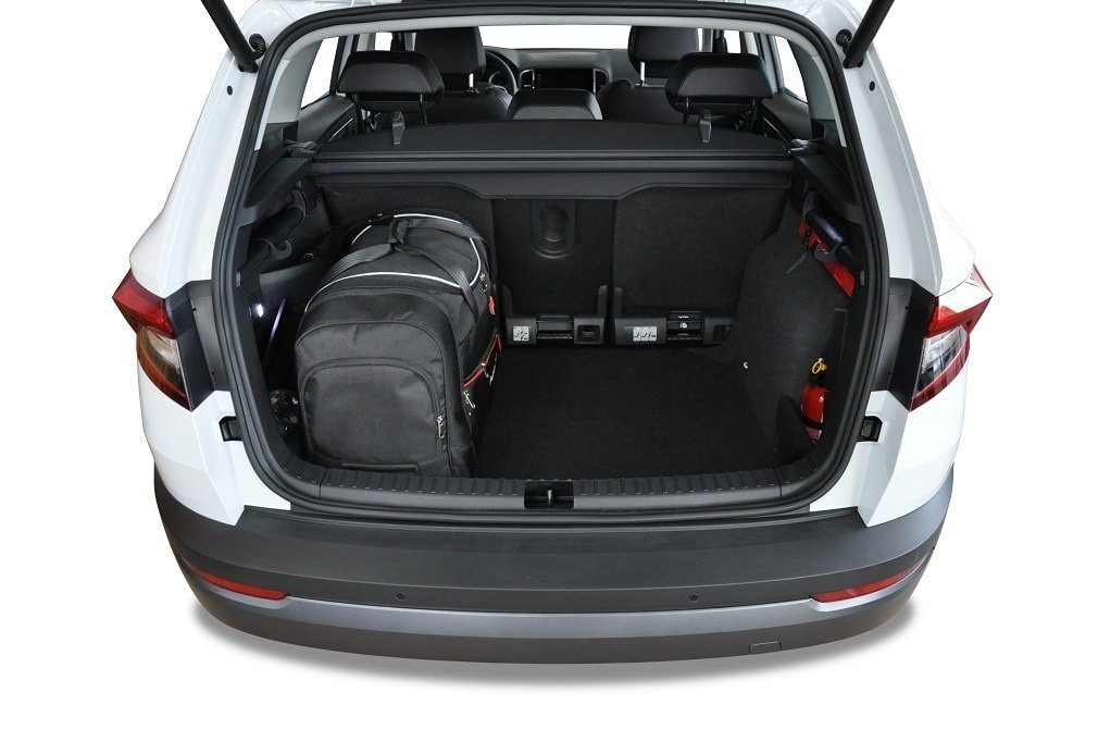 kjust skoda karoq 2017 car bags set 4 pcs select your car bags set skoda karoq i 2017. Black Bedroom Furniture Sets. Home Design Ideas