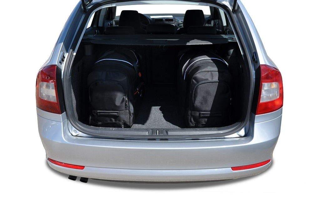 kjust skoda octavia kombi 2004 2014 car bags set 5 pcs select your car bags set skoda. Black Bedroom Furniture Sets. Home Design Ideas