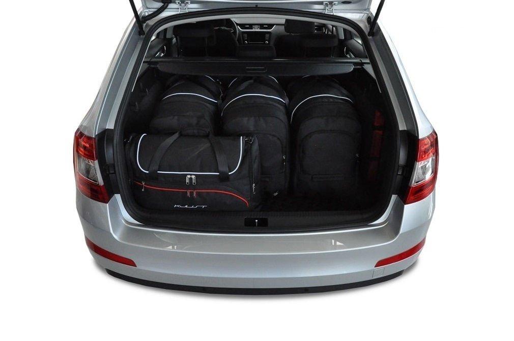 kjust skoda octavia kombi 2013 car bags set 5 pcs select your car bags set skoda octavia. Black Bedroom Furniture Sets. Home Design Ideas