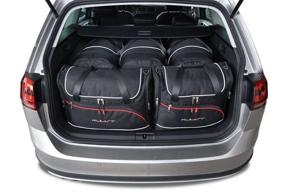 kjust vw golf variant alltrack 2015 car bags set 5 pcs select your car bags set vw golf. Black Bedroom Furniture Sets. Home Design Ideas