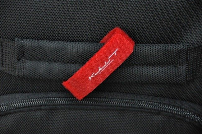 LUGGAGE LABEL RED (1 PCS)