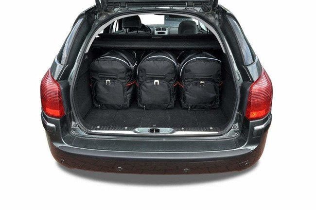 PEUGEOT 407 SW 2004-2011 CAR BAGS SET 5 PCS