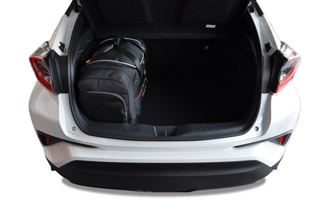 TOYOTA C-HR 2016+ CAR BAGS SET 4 PCS