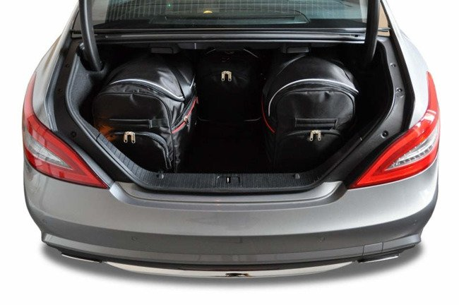 MERCEDES-BENZ CLS COUPE 2011-2017 TORBY DO BAGAŻNIKA 4 SZT